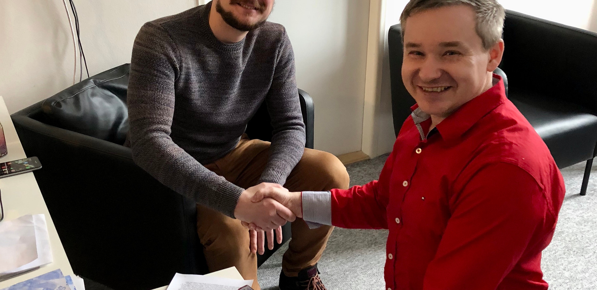 Vidasov podepsal exkluzivní smlouvu  s Nemoros
