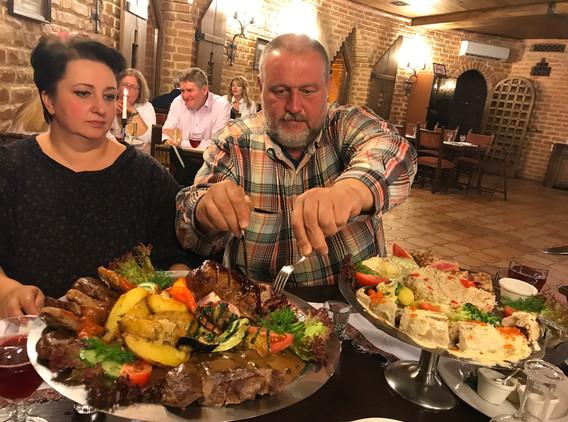 Super večeře v Moskvě