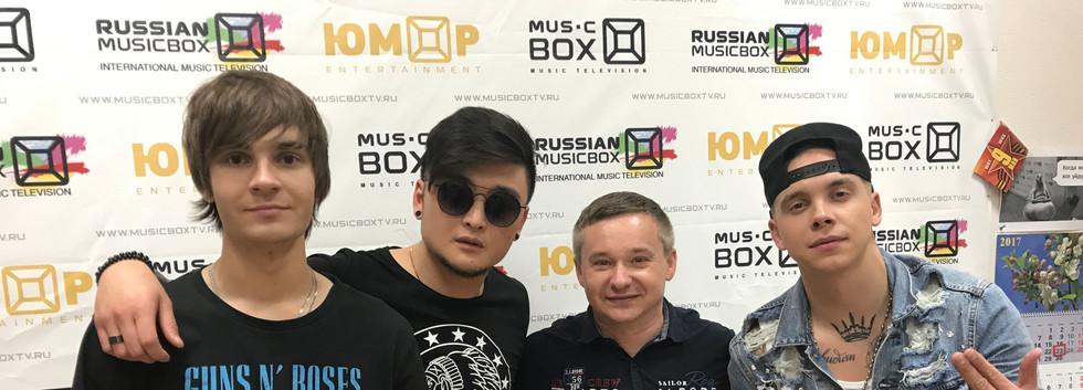 Producent Roman Rossi a boyband MBand