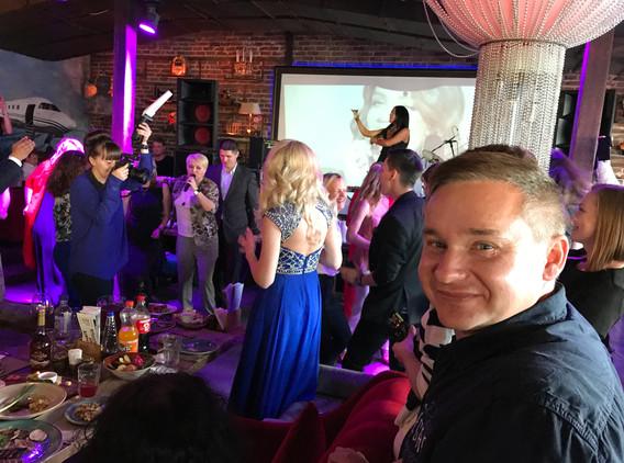 Korporátní večírek Russian Music Box v Moskvě