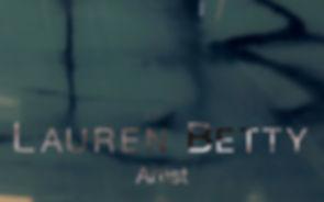 Video of Lauren Betty in her studio