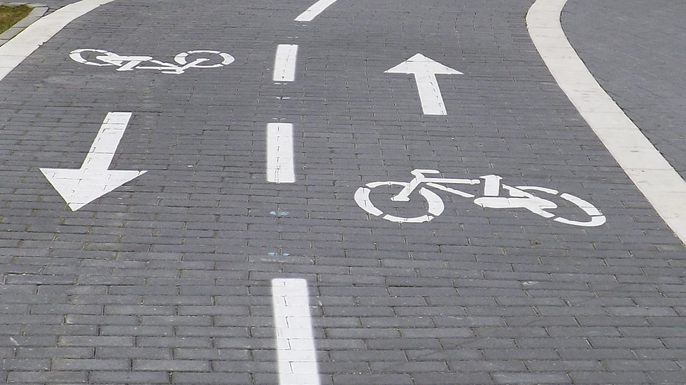 Wandel- en fietspaden