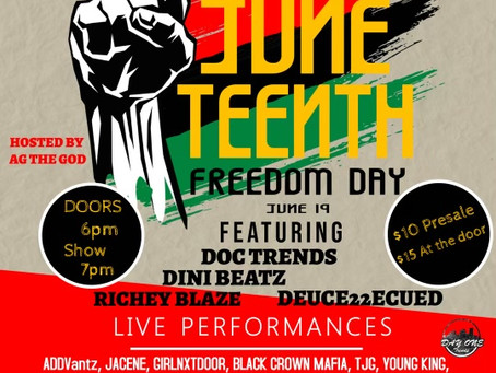 Juneteenth Freedom Day Event