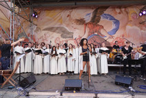 Konzert mit Fabienne Louves