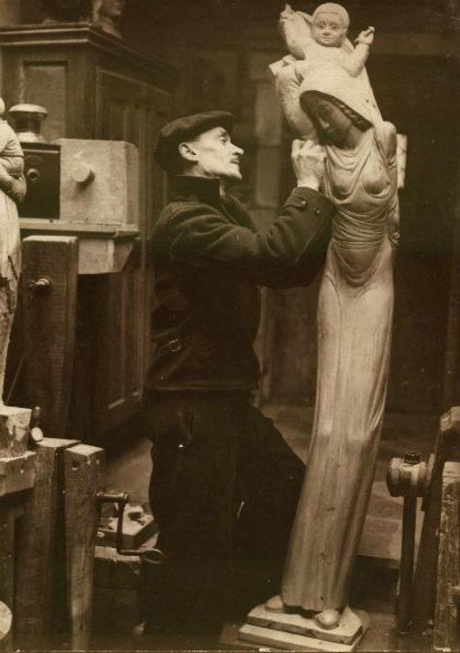 Exposition Raymond  Dubois-sculpteur-jui