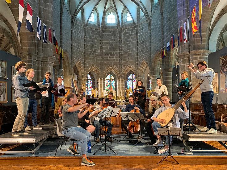 « Out of the deep » - Programme autour du psaume 130 « De profundis »  Sortie officielle du disque enregistré à Notre-Dame du Cap Lihou