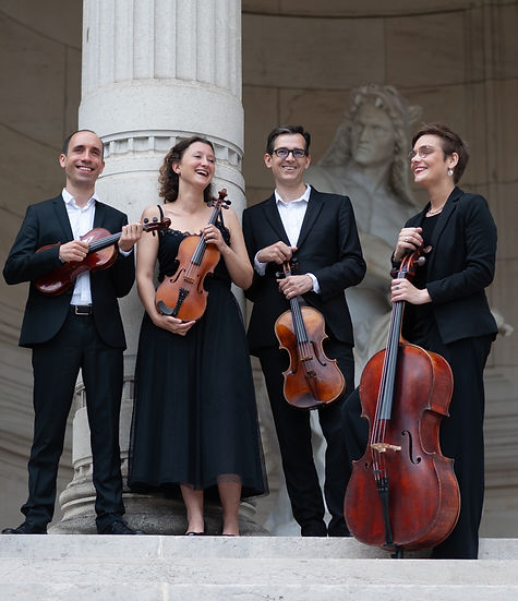 Concert Mozart - Quatuors de jeunesse.