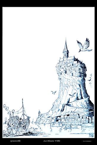 00 la Haute ville et sa tour Philippe Lu