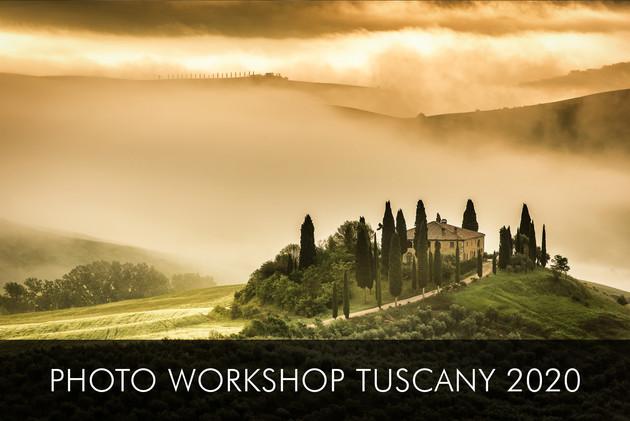 TUSCANY MAY 2020 photo workshop