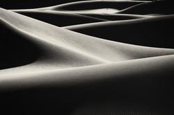 mesquite dunes, death valey, usa