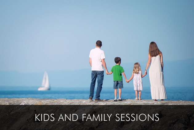 Kids and family sessions