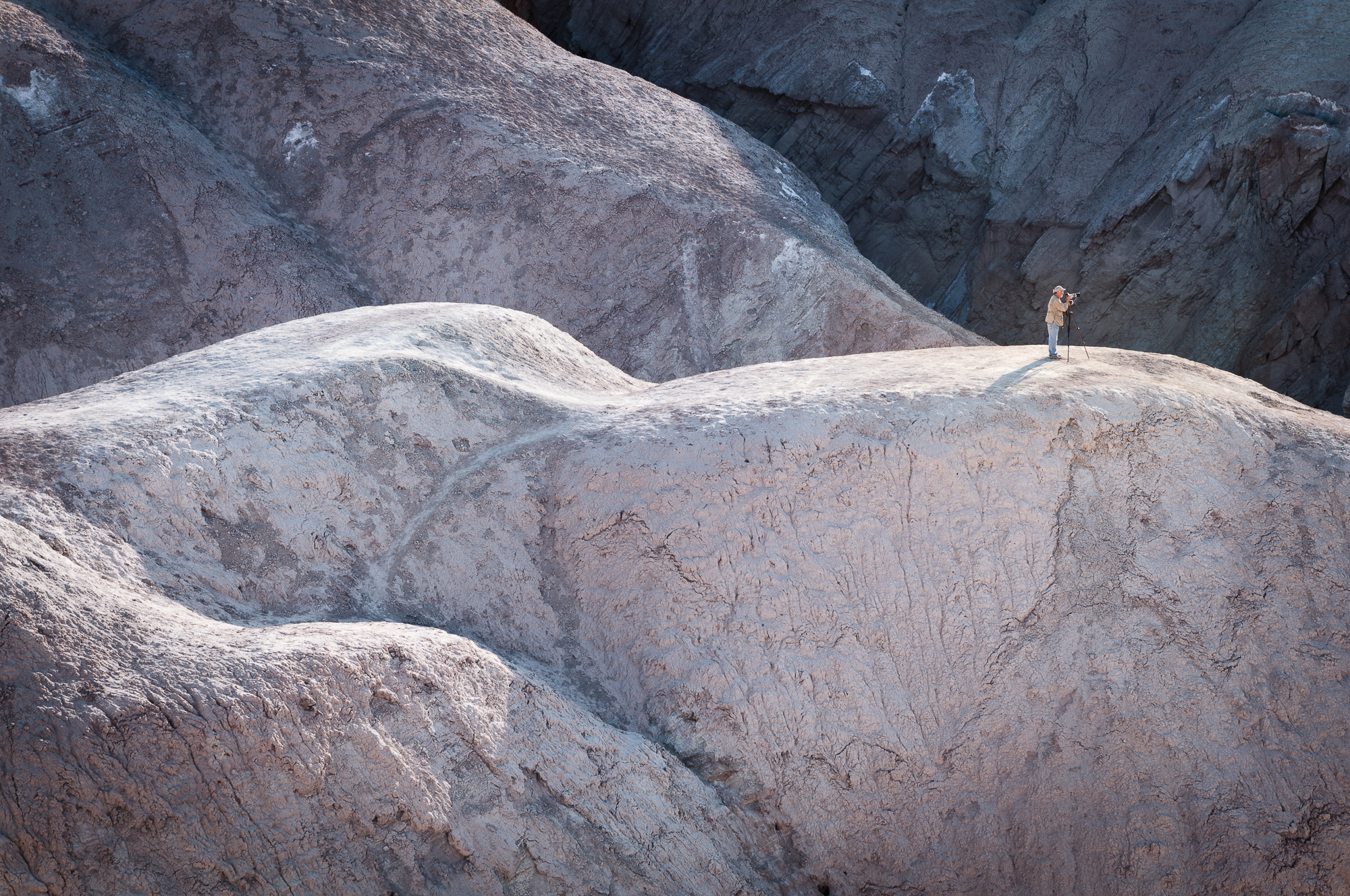 zabriskie point, death valey, usa