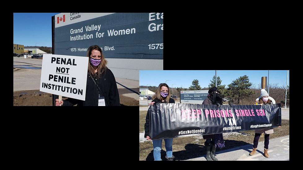 Canada GVI protest 1