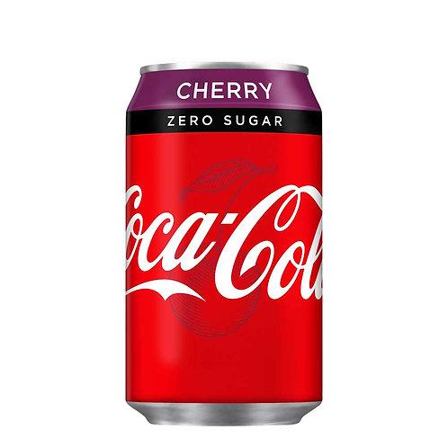 Coke Zero Sugar Cherry CAN 24x330ml