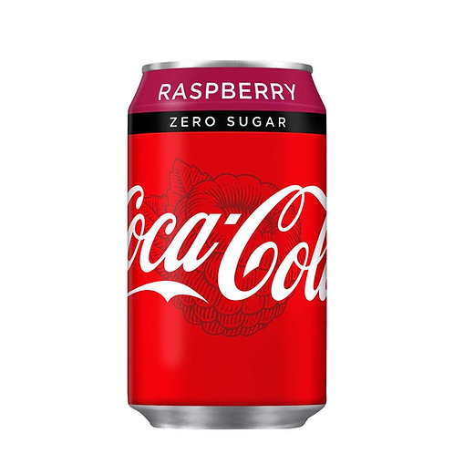 Coke Zero Sugar Raspberry CAN 24x330ml