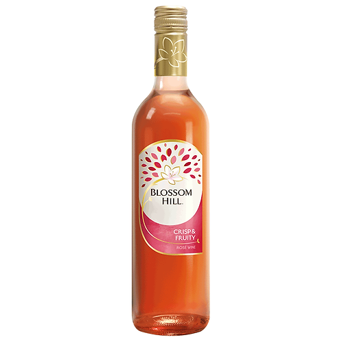 Blossom Hill Crisp & Fruity Rosé 6x75cl