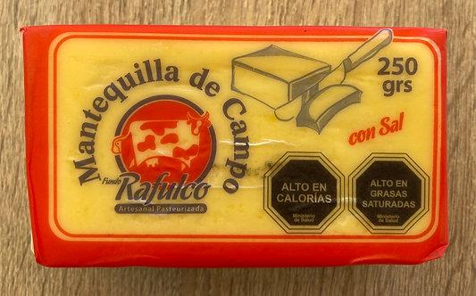 Mantequilla de campo rafulco 250 grs
