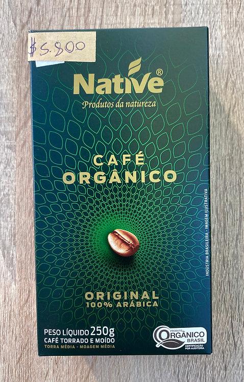Café orgánico Native