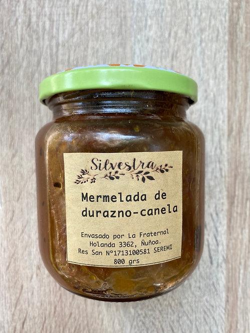 mermelada durazno-canela