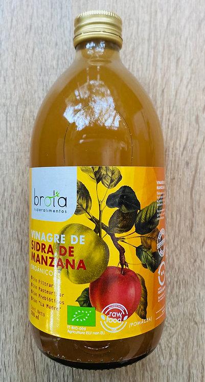 Vinagre de Sidra de Manzana Brota 500ml