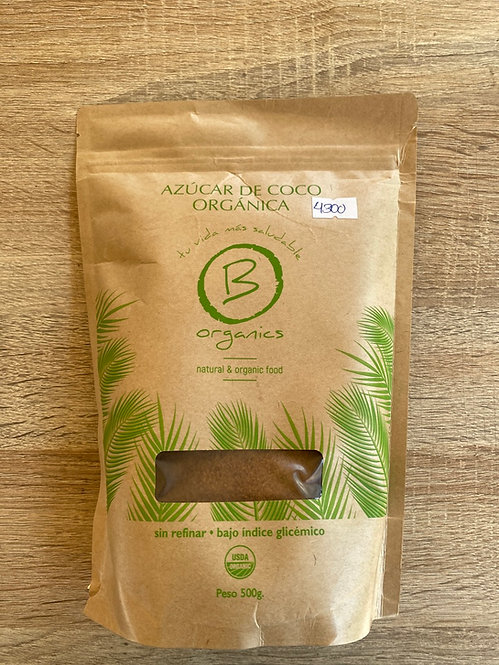Azúcar de Coco Orgánica 500grs