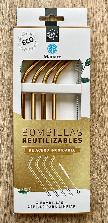 Bombillas reutilizables