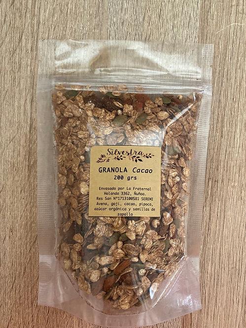 Granola cacao 200 grs