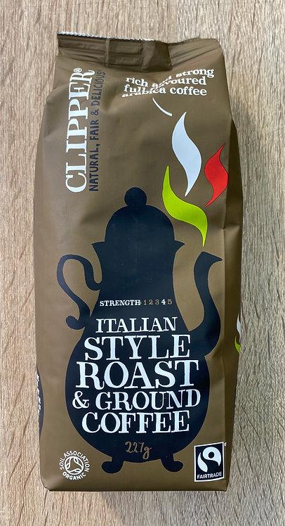 Café molido 100% arábico.