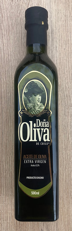 Aceite de oliva DOÑA OLIVA 500cc