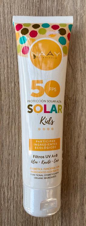Protector Solar niños 50 FPS NAAY