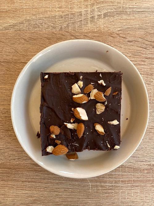 brownie vegano y sin gluten