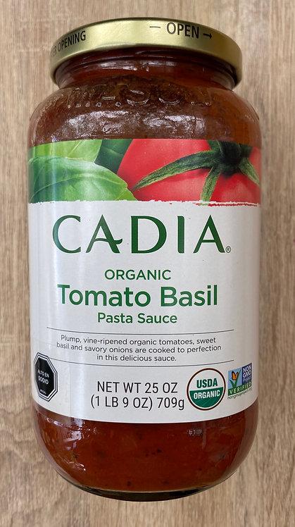Salsa de tomates Albahaca CADIA