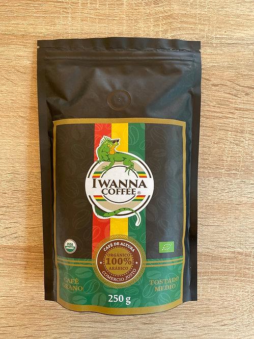 Café Iwanna Orgánico 250 grs