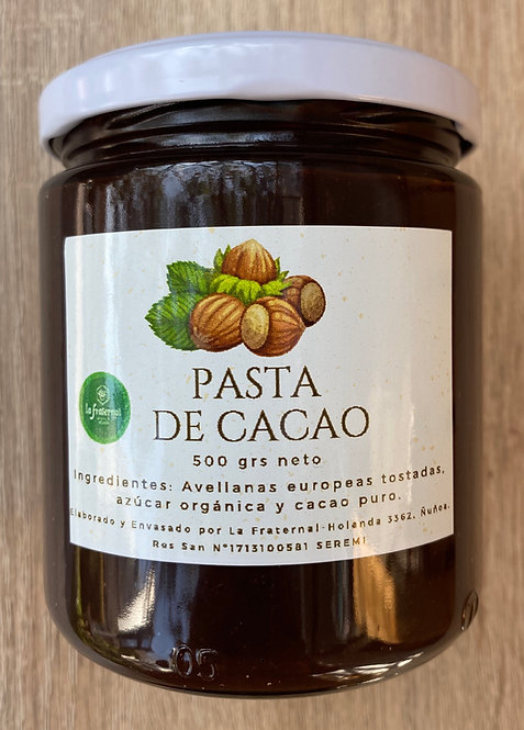 Pasta de Cacao 500grs