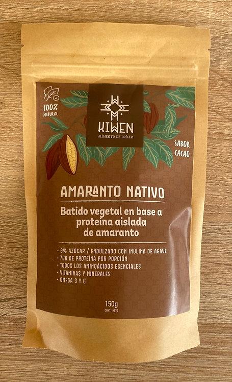 Amaranto nativo vegetal Kiwen (cacao)