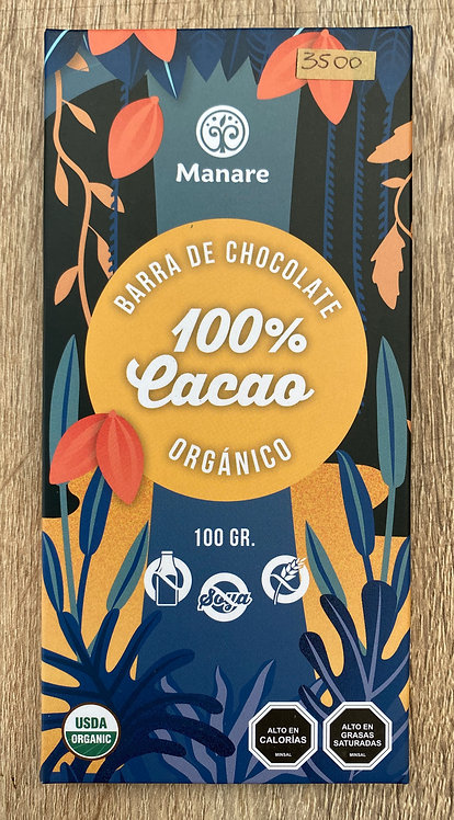 Chocolate en Barra Orgánico