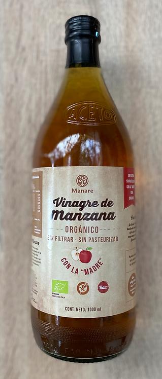 Vinagre de Manzana Orgánico Manare 1lt