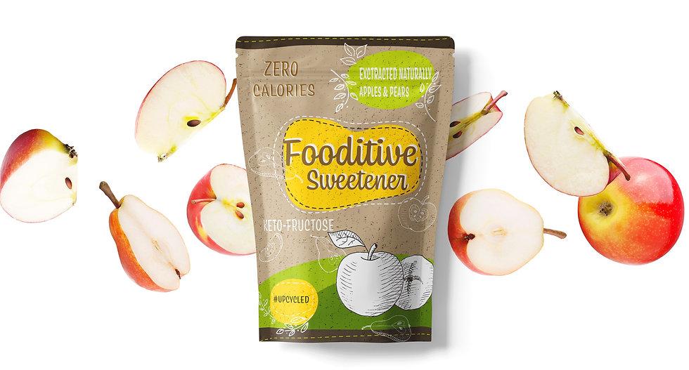 Fooditive Sweetener Apples Pears Zero Calories