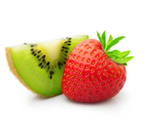Strawberry and Kiwi