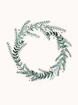 2020 Illustration Christmas Cards