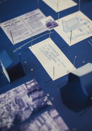 2020 Tafel illustratie voor het Erfgoeddiner #1 Leuven—Collaboration with aNNo