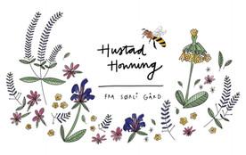 2020 Label Hustad Honning Labels