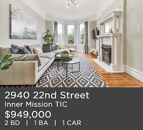 2940 22nd Street New Listing TICinSF.com