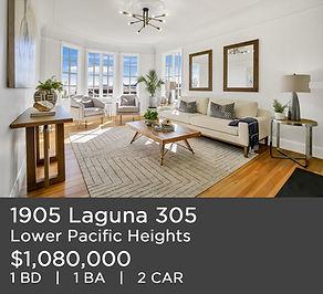 just listed 1905 laguna 305 san francisc