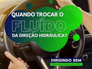 Fluído da direição hidráulica