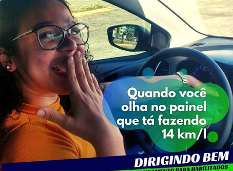 Consumo - carro parado