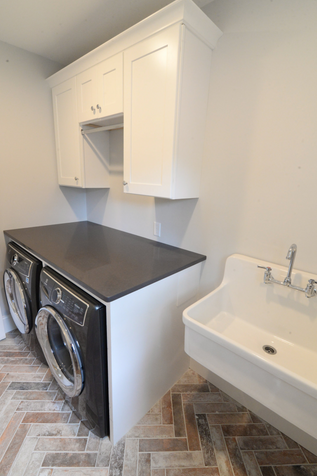 laundry room detail