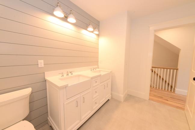 shiplap bathroom by oak dd