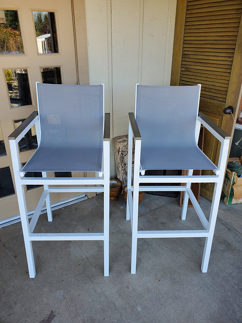Directors Style Barstools - Brand new!  2 available, priced individually