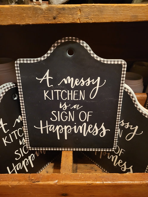 'Messy Kitchen' Trivet